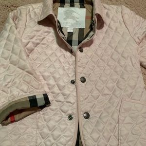 Burberry baby quilted jacket